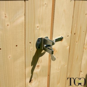 Casetta in legno Wanda Box Capanno Attrezzi - chiavistello