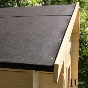 Casetta in legno Wanda Box Capanno Attrezzi - copertura