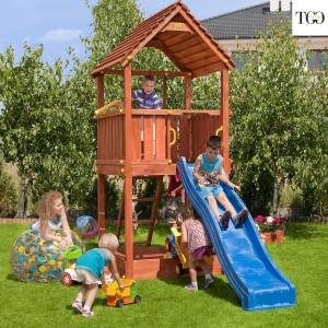Scivolo in legno Fungoo Joy gioco in legno per giardino
