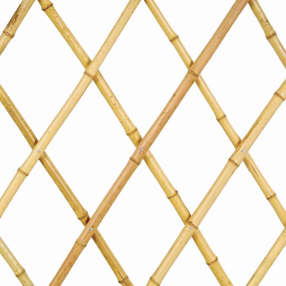 Grigliato estensibile in Bamboo 180x45 cm a maglia diagonale