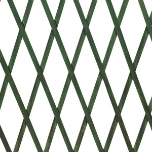 Grigliato estensibile in Legno 180x45 cm a maglia diagonale