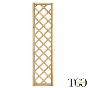 Griglia Alawa in legno Maglia Diagonale 40 x 180 Cm Color...